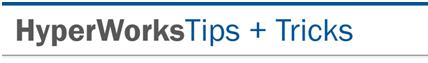 Tips Tricks October, 2010