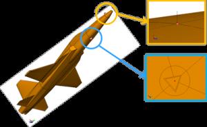 CADFEKO model