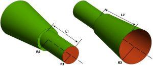 Dual-mode antenna geometry