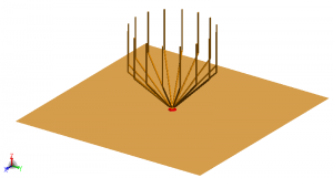 16 wire antenna used