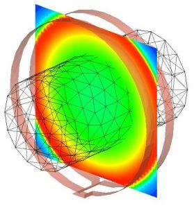 Helmholtz volume coil