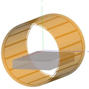 quadrature birdcage body coil